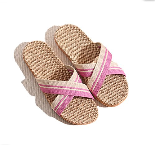 SmartRICH SmartRICH Rose Chaussons pour pour Rose Chaussons Femme pour SmartRICH Femme Femme Rose Chaussons fxrxS