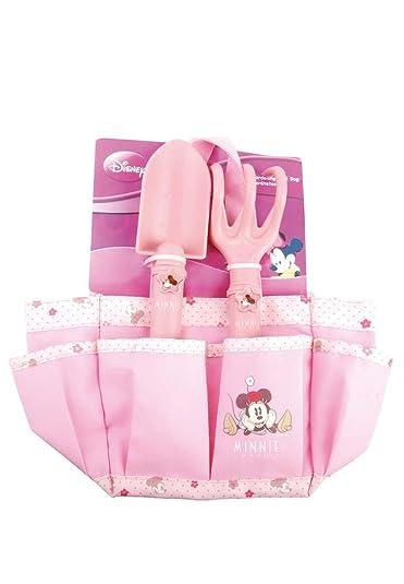Esschert Design Sac pour enfant Minnie avec outils de jardin, rose ...