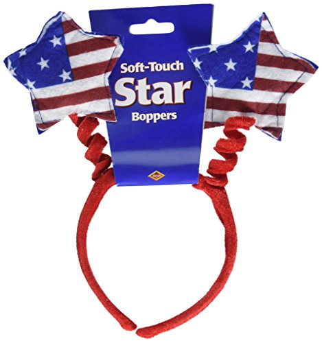 Patriotic Star Boppers (stars & stripes design) Party Accessory  (1 count) (1/Pkg) -