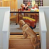Delaman Puertas de Seguridad Interiores para Perros Caja de Seguridad Portátil y Plegable, Instalación Fácil, Valla de…