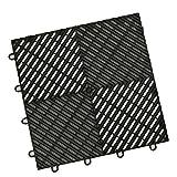 vented garage floor tiles - IncStoresVentedGrid-Loc Tiles 12inx12inx1/2in Interlocking Garage Flooring tiles 24pack