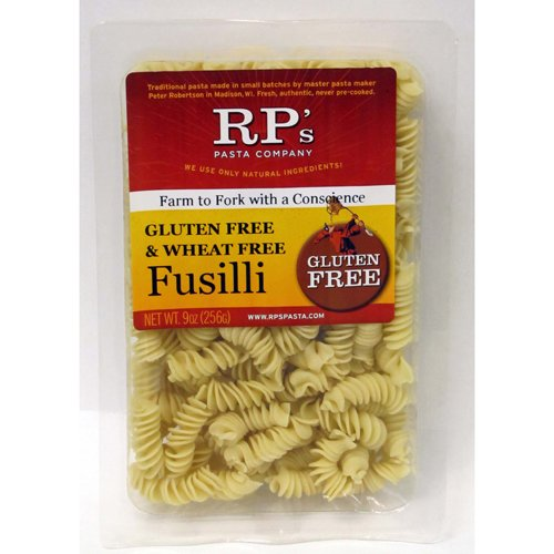 Gluten Free Fusilli Brown Rice Pasta, Frozen - 9 oz (Pack of 12) (Rp Gluten Free Pasta compare prices)