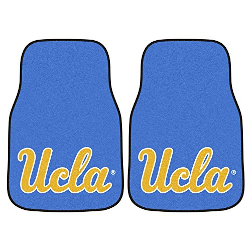 CC Sports Decor NCAA University of California - Los Angeles (UCLA) Bruins 2-PC Set of Front Carpet Car Mats, Universal Size