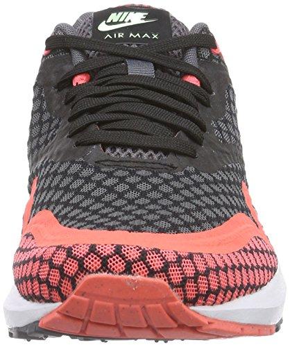 Nike Mens Air Max Lunar1 Br, Nero / Puro Lava Platino-calda, 9 M Us