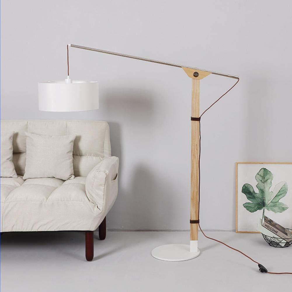 Lampada da terra creativa calda e delicata nordica semplice moda soggiorno lampada da terra camera da letto divano letto studio letto illuminazione verticale retr/ò