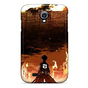 Premium Tpu Shingeki Cover Skin For Galaxy S4