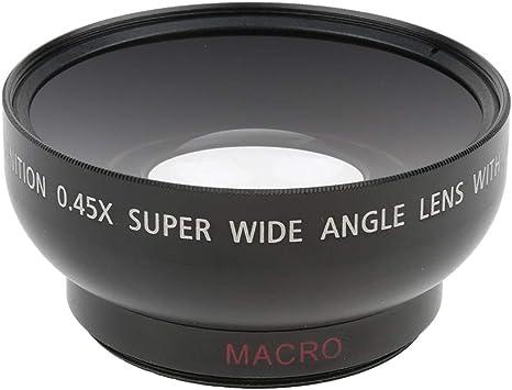 Lente Gran Angular Y Macro De 46 Mm 0.45x para Canon Nikon ...