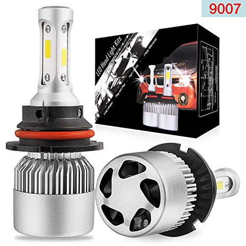 LED Headlight Bulbs Conversion Kit OFFROADTOWN 9007 (HB5) OSRAM LED Chip 15000 Lumens 360° Super Bright 150w Cool White 6000K