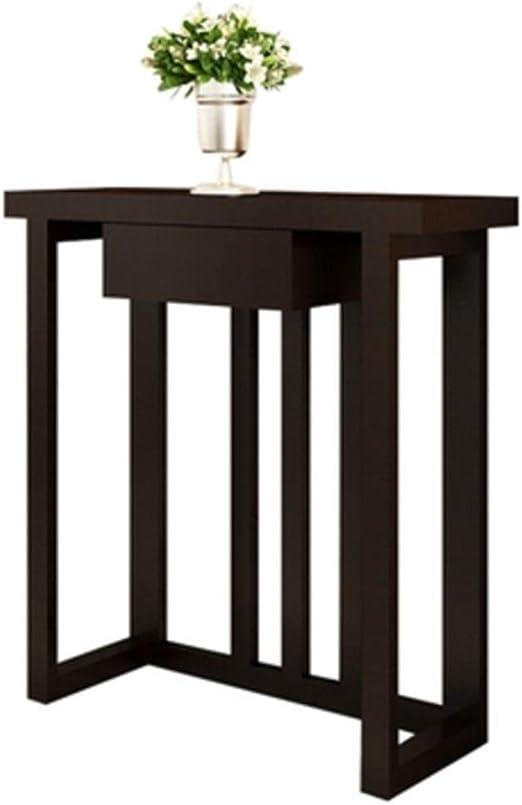 Folding table Nan Mesa Estrecha - Porche Moderno de Madera ...