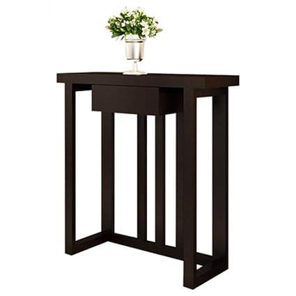 Folding Table Nan Mesa Estrecha Porche Moderno De Madera