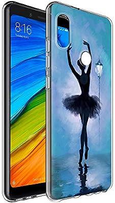YOEDGE Funda Xiaomi Redmi Note 5, Ultra Slim Cárcasa Silicona ...