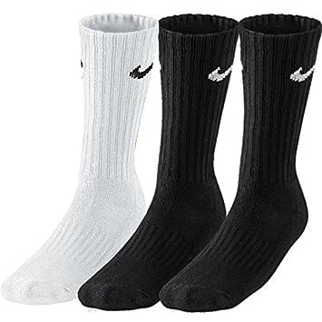 dfb61024e89121 9 Paar NIKE Socken in Größen 34-38 bis 46-50 schwarz weiß und kombiniert   Amazon.de  Sport   Freizeit