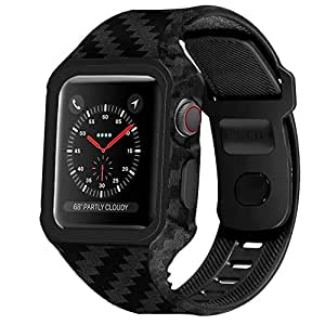 Amazon.com: WISHTA - Carcasa para Apple Watch 4 (4 unidades ...