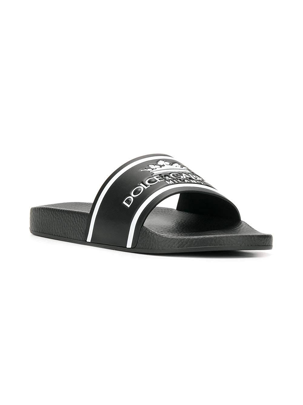 Dolce E Gabbana Sandali Uomo Cs1630au679hnr18 PVC Nero  Amazon.it  Scarpe e  borse 71347858a1c