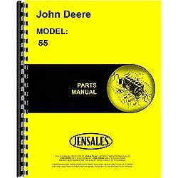 John Deere 55 Combine Parts Manual (Sn 057001 &amp