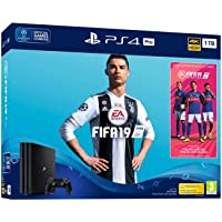 Sony PlayStation 4 Pro (1TB) Console with FIFA 19 Ultimate Team Icons and Rare Player Pack Bundle