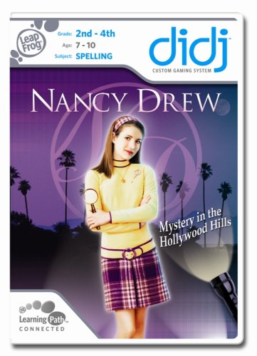 Leapfrog Didj Custom Learning Game Nancy Drew - Mystery In The Hollywood - Hollywood Shops In