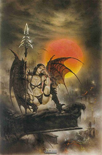(Black Tinkerbell by Gothic Artist Luis Royo Mint Sealed Poster (24