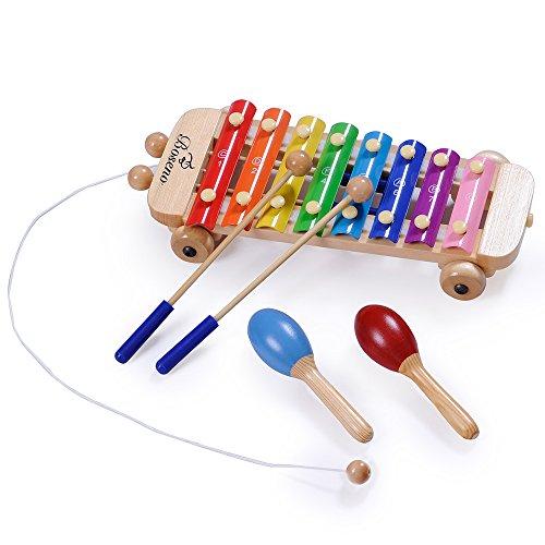 Boseno Xylophone Maracas & Mallets Musical Song ...