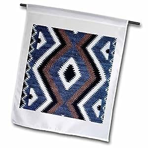 fl_94845_1 Danita Delimont - Textiles - Utah, Monument Valley, Navajo Tribal Park textile - US45 RER0003 - Ric Ergenbright - Flags - 12 x 18 inch Garden Flag