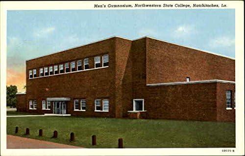 Men S Gymnasium Northwestern State College Natchitoches Louisiana La Original Vintage Postcard At Amazon S Entertainment Collectibles Store