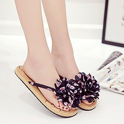 Gaorui Fashion Dames Teenslippers Zomer Causale Schoenen Slippers Sandalen Strand Muilezels Roze