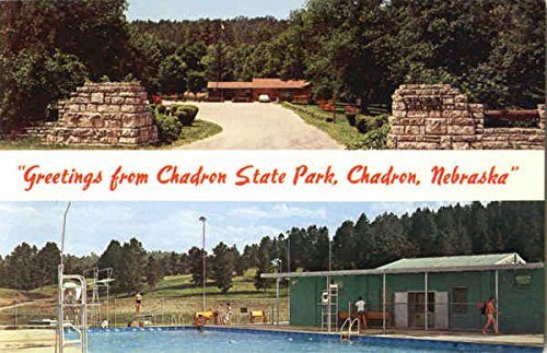 Greetings From Chadron State Park Chadron, Nebraska Original Vintage Postcard from CardCow Vintage Postcards