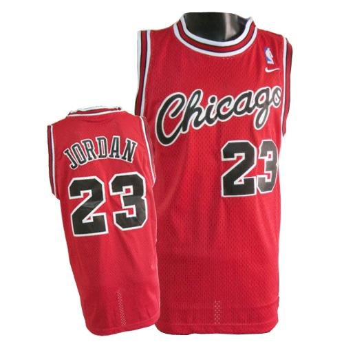 Mens Michael Jordan Chicago Bulls Rookie Throwback Jersey Size Large