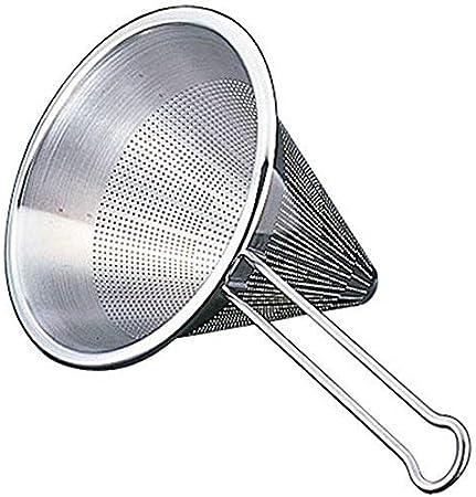 R/ösle Stainless Steel Round Handle Kitchen Strainer Fine Mesh 7.9-inch