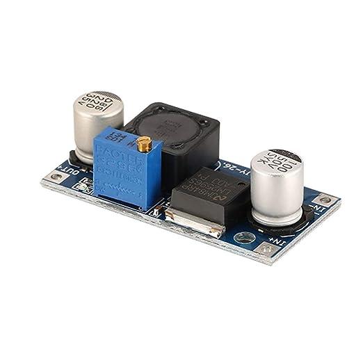 Swiftswan LM2596S - Módulo de Enchufe CC (4, 5-40 V, 3 A ...