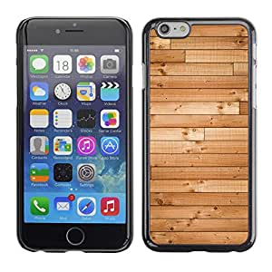 Soft Silicone Rubber Case Hard Cover Protective Accessory Compatible with Apple iPhone? 6 (4.7 Inch) - wood hard floor texture ship brown