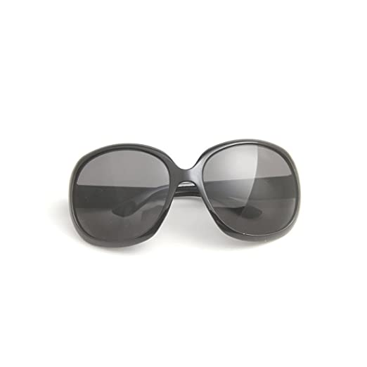 2409f4407 Amazon.com: Novadab Epoch Big Frame Summer Trendy Sunglasses (Black ...