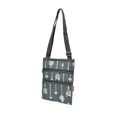 Gray Arrow Print NGIL Messenger Hipster Bag outlet