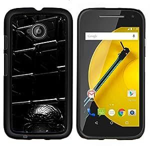 Cubierta protectora del caso de Shell Plástico || Motorola Moto E ( 2nd Generation ) || Resumen Cubo @XPTECH
