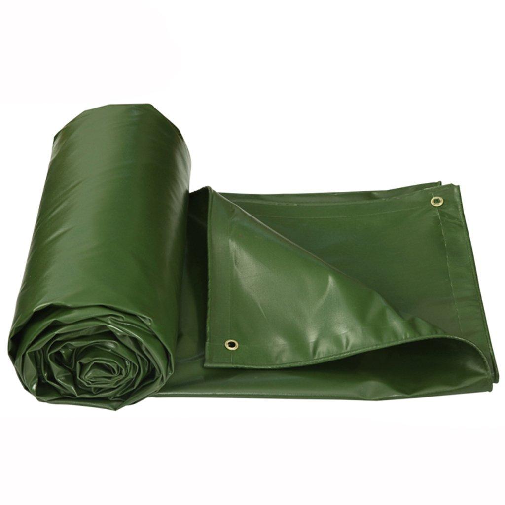 防水 厚手の防水防水布布の防水シートの防水シートの日焼け止め屋外 B07FHZ3RV1  Grass green 4*3m
