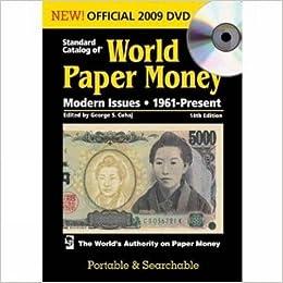 Standard Catalog of World Paper Money Modern Issues DVD