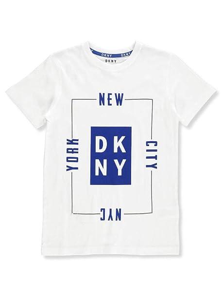 c2bc5dd032c9 Amazon.com: DKNY Boys' T-Shirt: Clothing