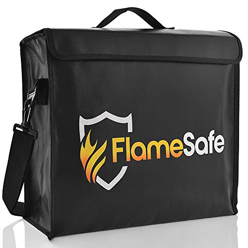 Box Waterproof Non (FlameSafe XL Premium Fireproof Document Bag (16