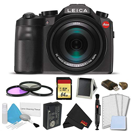 Leica V-LUX (Typ 114) Digital Camera Complete Bundle (Leica C Lux 3)