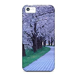 Hot Tpye Quaint Path Case Cover For Iphone 5c