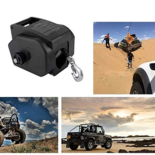 RoadRoma Electrical Winch With Remote Control 4990 KG Motor Winch Auto Boat Lift Winch
