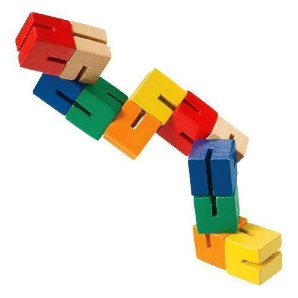 Cubebot Wooden Toy Kids Loves T O Y Ssssss T Wooden