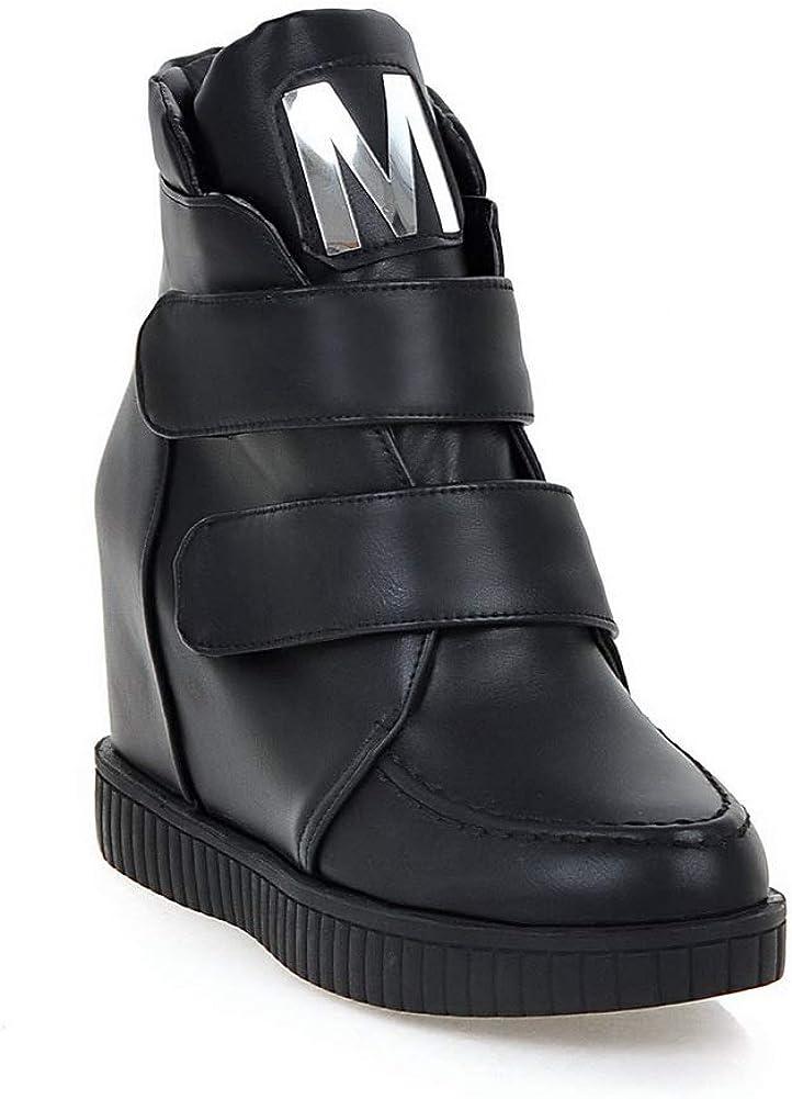 AN Womens Heighten Inside Assorted Colors Urethane Rain Boots DKU02217