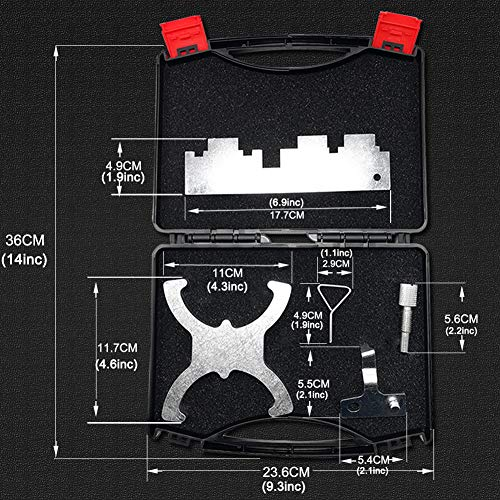 Elf Bee 1.5L & 1.6L Petrol Engine Belt Drive Locking Timing Tool Set for Ford Fiesta VCT Focus by Elf Bee (Image #2)