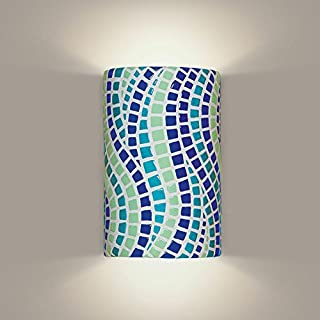product image for A19 Channels Wall Sconce, 4-Inch by 6-Inch by 9.5-Inch, Multicolor