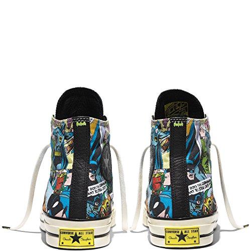 Converse Chuck Taylor All Star High 70 x DC Comics Batman Black Print Comics155359C INKL. Gummi Sammleretikett, Das IM Dunkeln Leuchtet Limited Edition (8.5 UK · 42 EU · 27 cm)