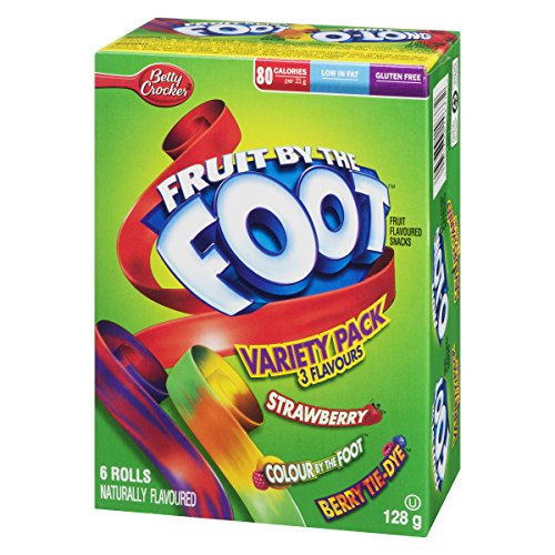 Betty Crocker Variety Pack, Gushers, Fruit Roll-Ups, Fruit By The Foot (Flavors May Vary), 8-Count Pouches (Pack of 6) by Fruit Gushers