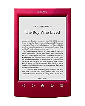 Sony PRST2HRC - Lector de e-Book, WiFi, Color Rojo: -: Amazon.es ...