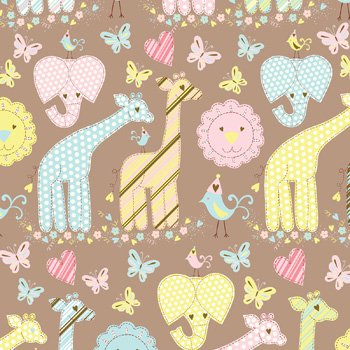 Amazon Com Animal Quilt Gift Wrapping Roll 24 X 16 Birthday