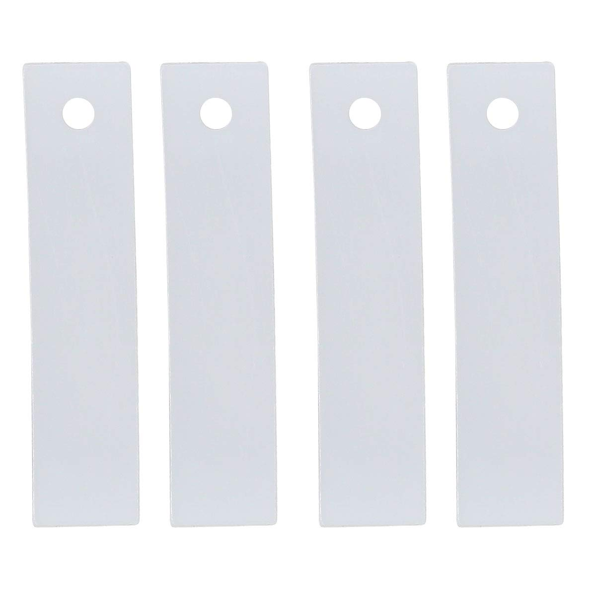 ApplianPar 4 Pack WE1M504 Dryer Front Drum Glide Slide kit for GE WE1M333 PS755842 963512